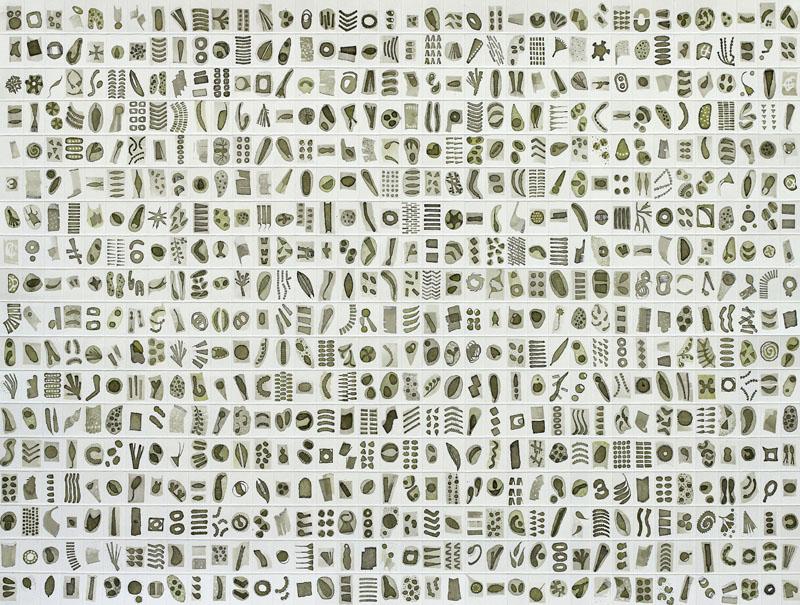 Micrarium no.10, ink on paper
